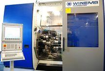 Unsere Maschinen / Rundtaktmaschinen, Rotary transfer machines, CNC, Industrie,