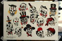 Tattoo: Skull