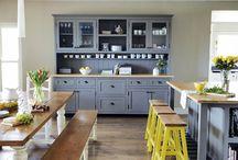 Dreamy kitchens / Kitchens, kitchens and more kitchens