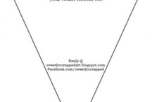 Bunting template to print