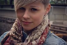 Short hairstyles / by Kathy Chase