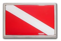 Dive Flags, Car Emblems and Hitch Covers