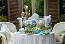 Shabby chic home style / Home decoration