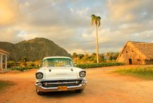 Crazy cool classic cars in Cuba / The iconic classic American (and not so classic Russian) Car ... synonymous with travel to Cuba