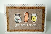 Cards - Get Well Soon, Lawn Fawn