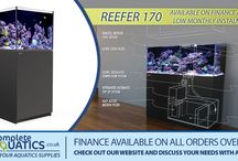 Red Sea Reefer / At www.COMPLETEAQUATICS.co.uk we are very proud to be one of the main suppliers of this wonderful full specification Marine aquarium for advanced hobbists! This is an absolutely fantastic aquarium and also available on our finance plans at very low monthly cost!