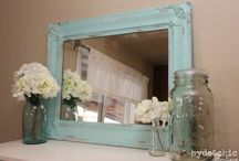 decor for the new pad♥ / love shabby chic!