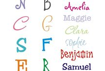 Fonts / by Allison Woodard
