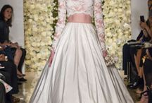 One Reem Acra Gown.... Five Ways!