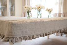 bed burlap