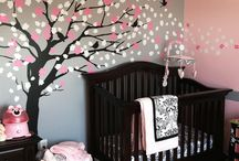 Nadine Pienaar - Baby room / Designing our baby girl's room