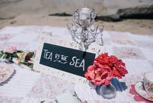 Tea by the Sea: Tea Party / Tea Party by Sea Vintage dress for women and little girls/children Hats/Facinators Tea/China decor and vintage antiques fashion