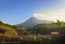 MERAPI Volcano, Indonesia / love travelling, love landscapes, love to photography-ing them, share to people, back to those places someday.