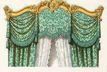 Baroque drapery
