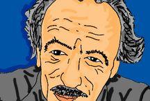 Fumettistica / Disegni liberi creati con tavoletta grafica in Adobe Photoshop.