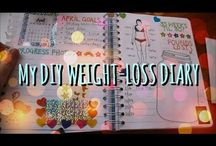 Weight loss diary