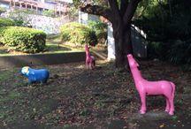 公園 / 可愛い遊具や素敵な木々のある公園を集めます。