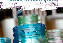 tinted mason jars whattt