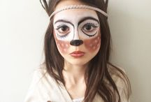 Artistic makeup inspiration