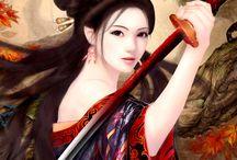 Asian-Inspired Art