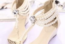 wedding shoes and sandals