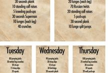 Every day body weight workout! / Everyday body weight workout!