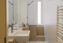 Schmales badezimmer