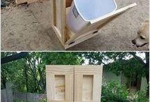 Újrahasznosítás, kerti bútor