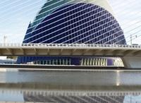 Ciudad de las Artes y de las Ciencias / Ciudad de las Artes y de las Ciencias is één van de highlights in Valencia en is ontworpen door Santiago Calatrava.