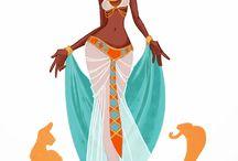 Egyptian Character Ideas