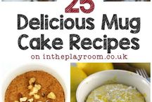 Microwave Mug cakes & bakes / A quick and easy way to make cakes and more!