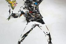 Portraits Made from Old Instruments and Scrap Objects by Christian Pierini. / Portraits Made from Old Instruments and Scrap Objects by Christian Pierini.  -----------------------------------------------------------------------------  SULEMAN.RECORD.ARTGALLERY: https://www.facebook.com/media/set/?set=a.400740310135994.1073741947.286950091515017&type=3  Technology Integration In Education: