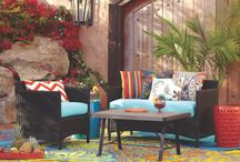 outdoor rooms / by Sharon Graham