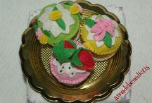 My felt cakes