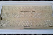 Harunouta - Placa BP-L003 / Nail art,Manicuras