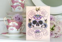 Vickilicious Vintage Tattoo Influenced Cards