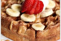 Breakfast Ideas / First part of the day needs to start off with delicious food! Sweet or savory, whatever you feel like!
