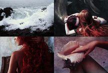 Mermaids; / Mermaids, ocean, sea.