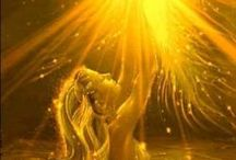 sun and moon goddess