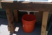 Outdoor scullery