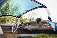 "classic car / 1954 Chevrolet Corvette ""Bubbletop"" Roadster"