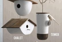 Birds & birdhouses / by Pam Ridge