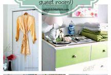 Guest Bedroom / by Lindsey Schneckloth