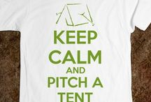 Tents: Just for Fun / This board is full of fun items all about tents.