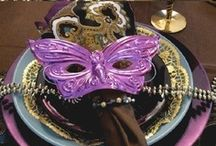 "Mardi Gras Party / Bring the festive vibes of the ""Big Easy"" to your event by making its' theme Mardi Gras!"