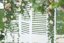 Esküvői fotósarok/ fotófal ötletek