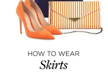 How to wear skirt