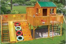 domek dla wnuków