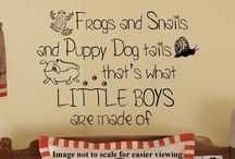 All things frogs & snails & puppy dog tails! / by Jaime W.
