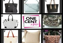 Fashion Friday at OneCentChic 7-25-14 / Choose from 8 Beautiful bags tonight at 10 PM at OneCentChic